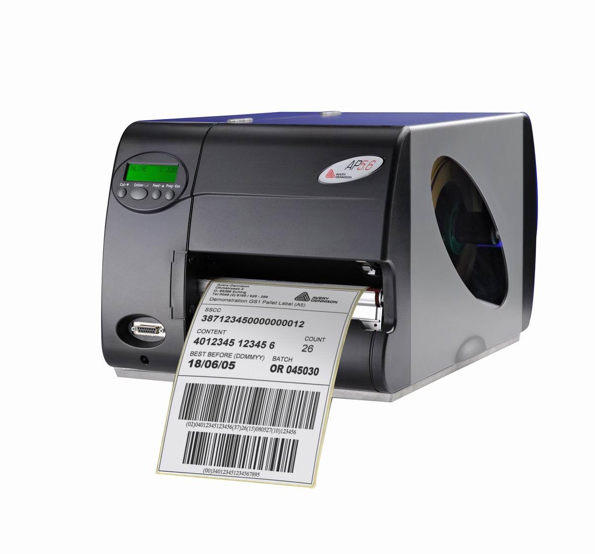 华东上海|条码打印机|美国艾利Avery ap5.6 供应条码打印