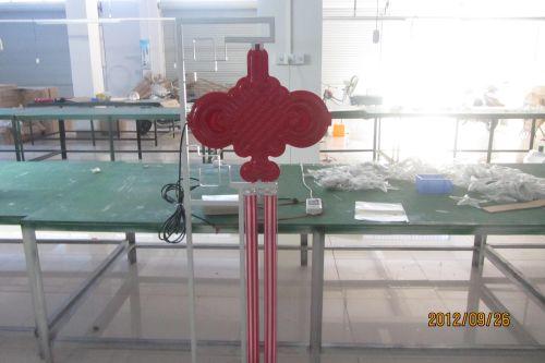安装LED中国结说明