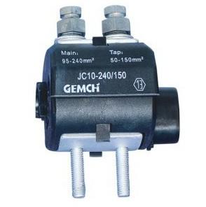 电缆穿刺线夹/电缆分线夹/JCF10-185/95型绝缘穿刺接地线夹