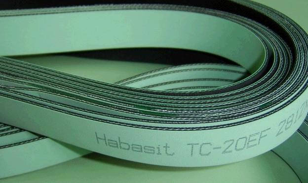 Habasit TC-20EF 平面传动带