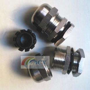 PG7现货不锈钢防水接头|电缆固定头|不锈钢格兰头|防爆电缆接头