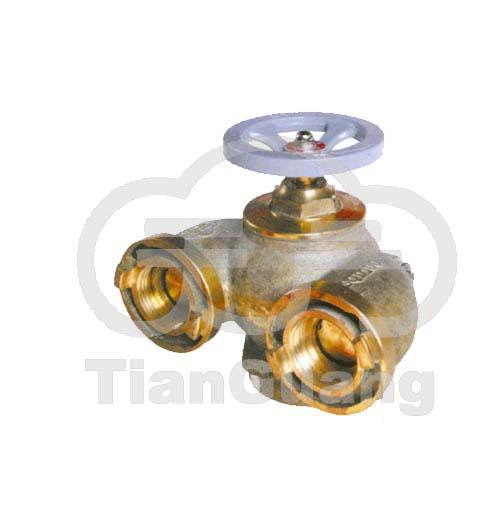 全铜多用式消防水泵接合器SQD100