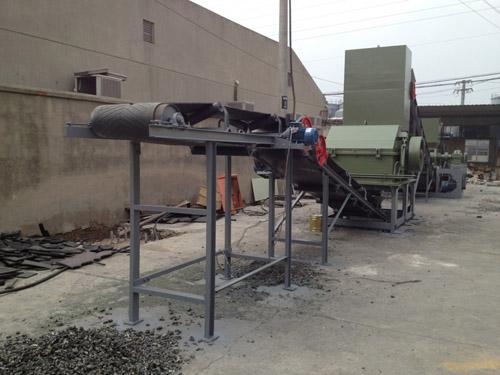 江阴废钢破碎机,金属破碎机,油漆桶撕碎机,报废汽车破碎线