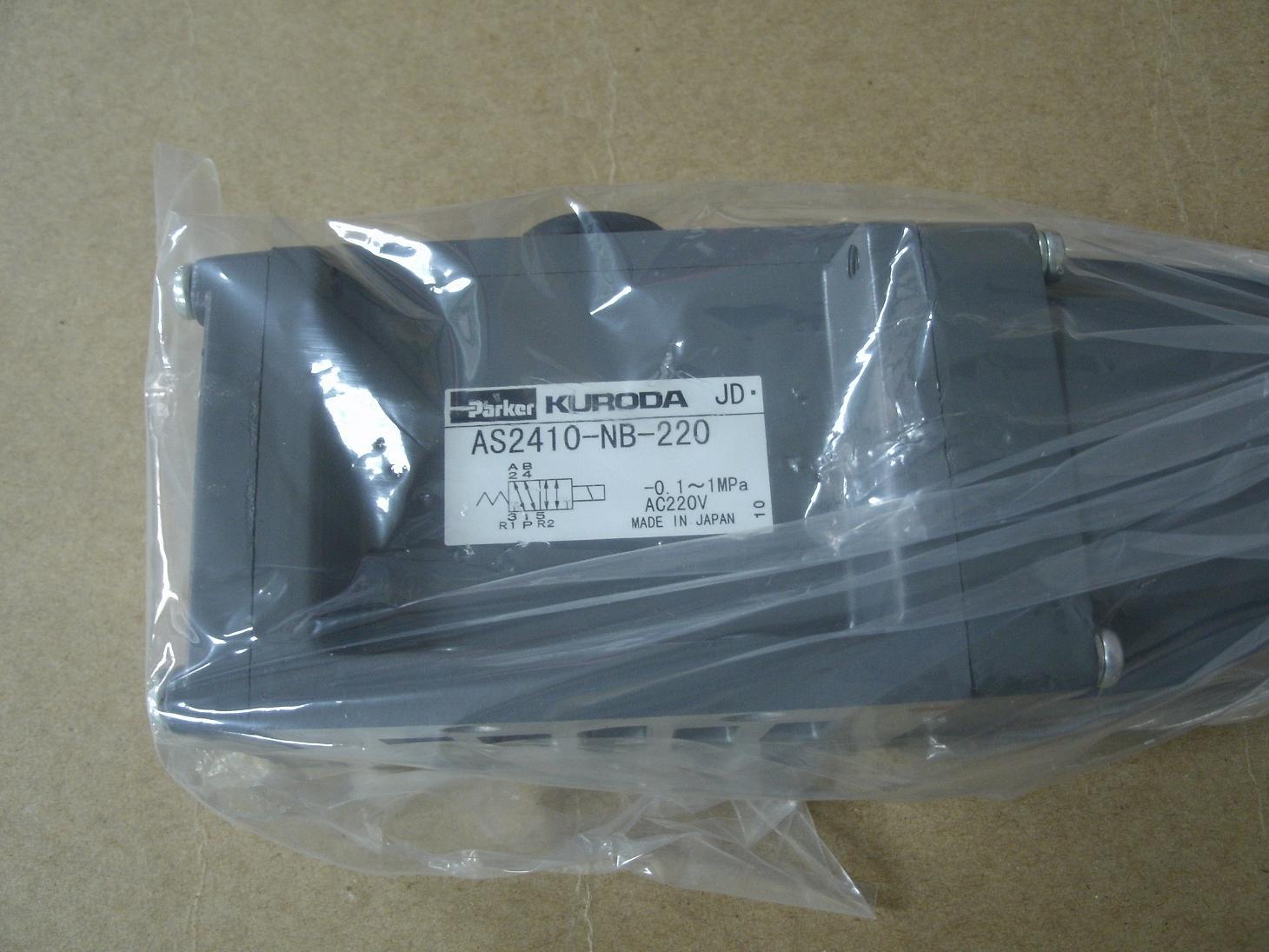 焊接设备KURODA电磁阀AS2410-NB-220