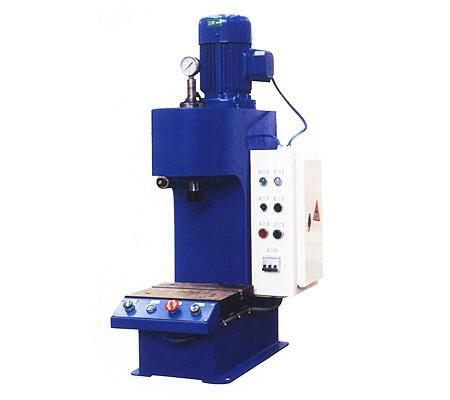 台式单柱压装液压机
