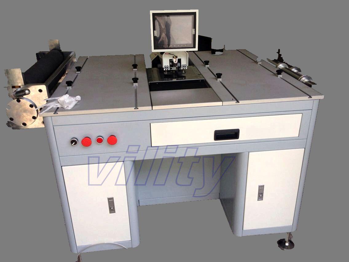 单边移位卷料全自动打孔机,导电膜PET卷材专用,卷材冲孔,速度快!
