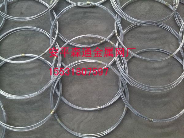 怀化客户钢丝环形被动防护网加紧生产赶工期