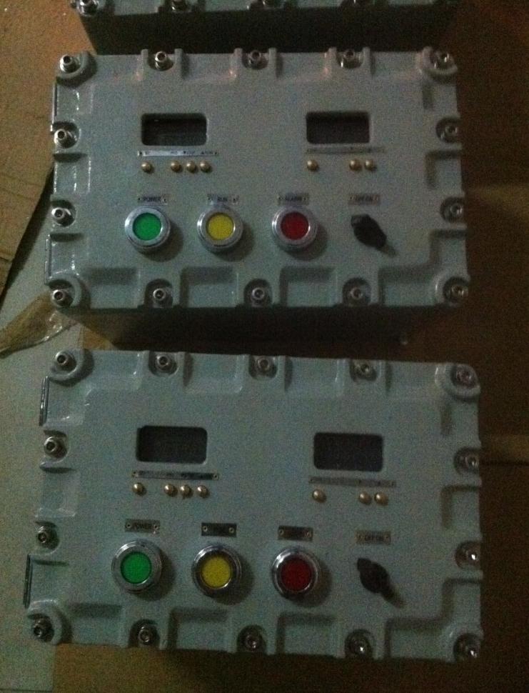中山BXK58防爆控制箱厂家 溶剂回收机控制箱 防爆仪表箱哪里有卖