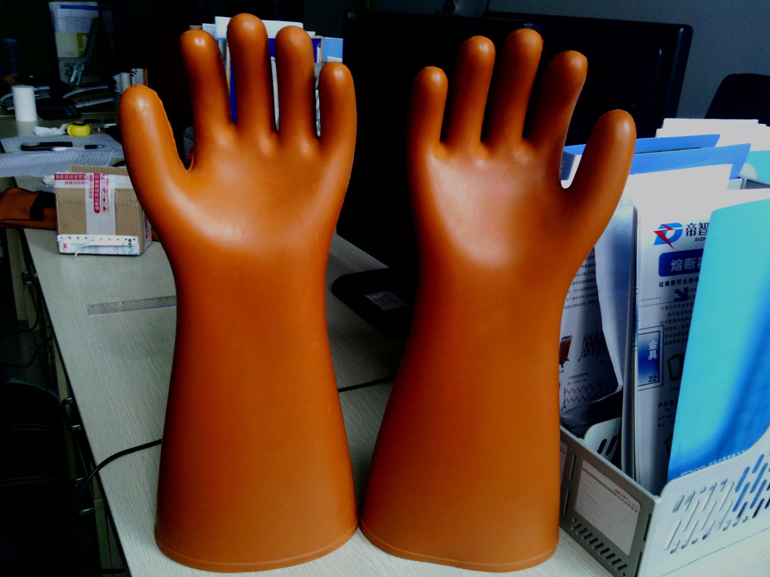 耐高压绝缘手套 耐高温防护手套 天津双安绝缘手套