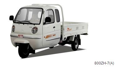 福田800水冷发动机三轮汽车 汽油多缸农用车