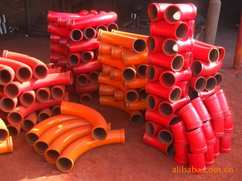 长期供应定做各种泵管、弯管、管卡