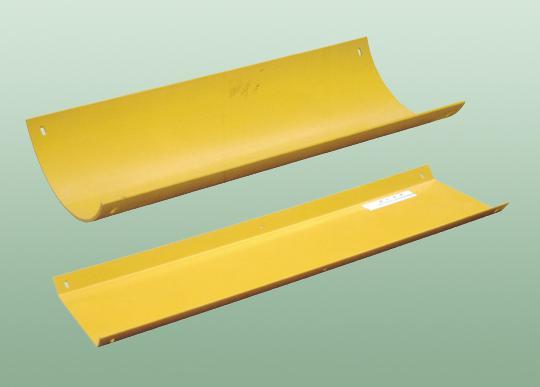 T型塑料溜槽 弧形塑料溜槽塑料溜槽