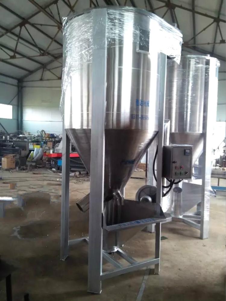 山东济南500kg注塑塑料烘干搅拌机颗粒烘干机设备