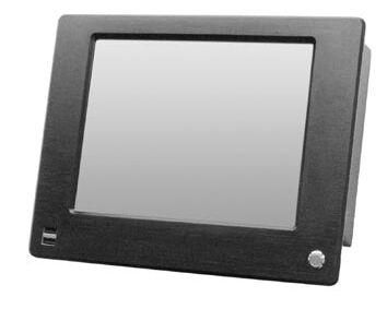 12.1寸免风扇嵌入式工业平板电脑 面板带USB、电源开关