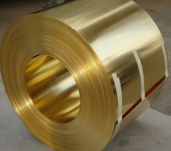 青铜(黄铜)带,1.5mm/0.6mm高精黄铜带
