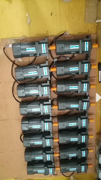 瑞安食品机械专用250W立式微型单相调速电机 大速比调速电机