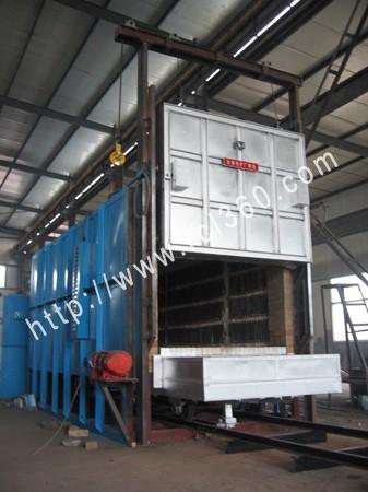 专业生产大型全纤维台车式电阻炉
