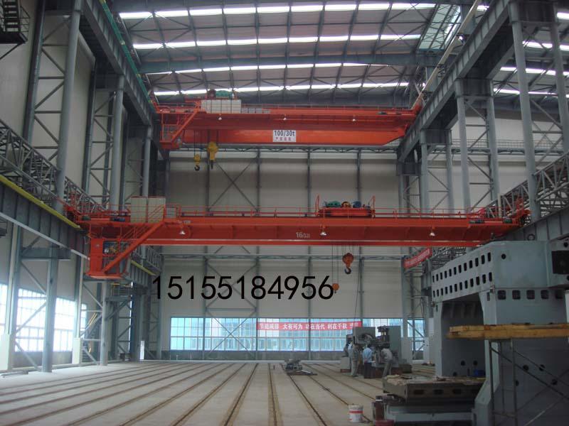 合肥5吨16吨单梁行车价格,QD型吊钩双梁桥式起重机