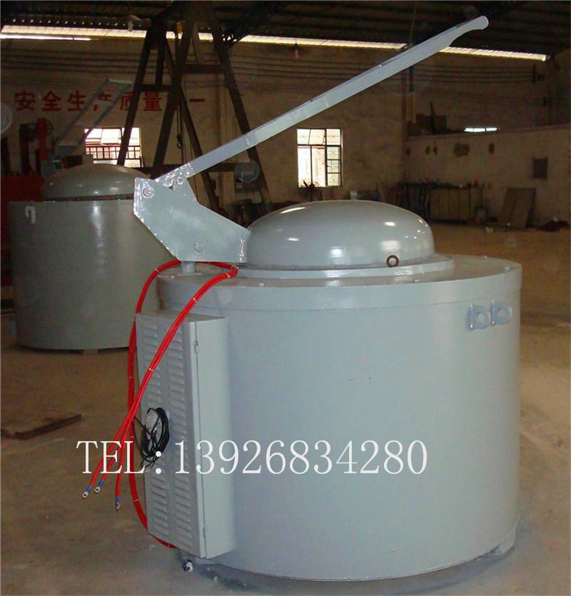 东莞金力泰GR3型坩埚熔化炉 500公斤电阻式熔铝炉