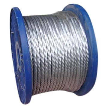 索具钢丝绳,渔业用钢丝绳,吊装钢丝绳,操纵钢丝绳