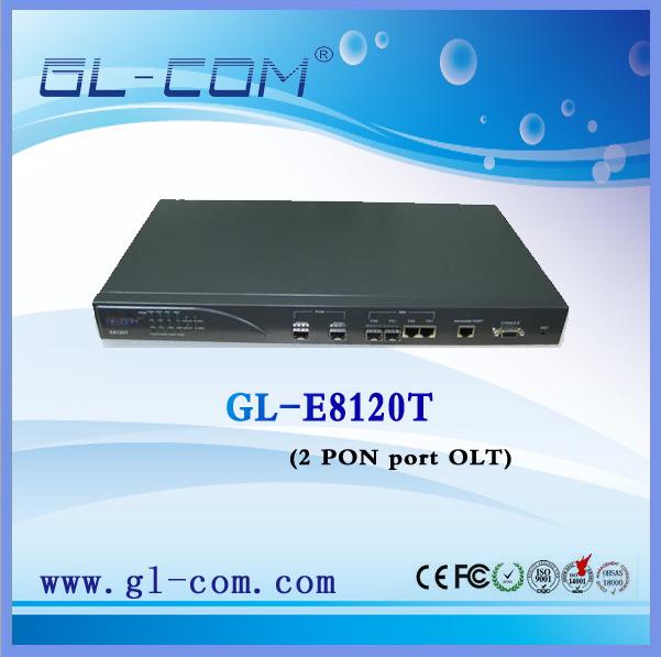 EPON 2PON口非网管型OLT,即插即用,性价比高,安防监控理想选择 举报