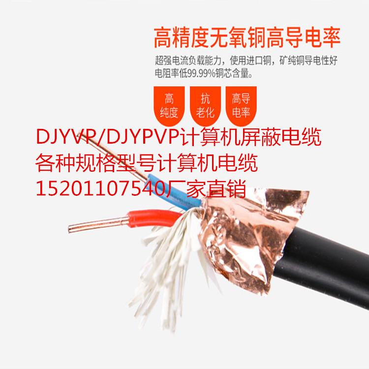 阳泉DJYVP计算机电缆_计算机屏蔽电缆