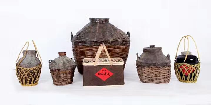 沂蒙山桑皮纸酒篓仿古酒容器