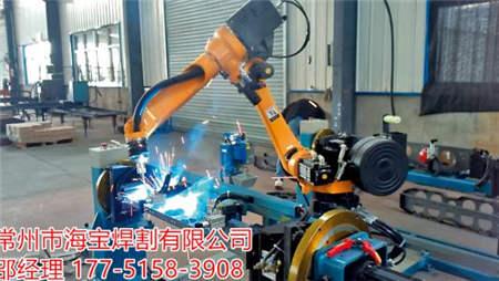 点焊机器人案例-南京埃斯顿机器人工程有限企业