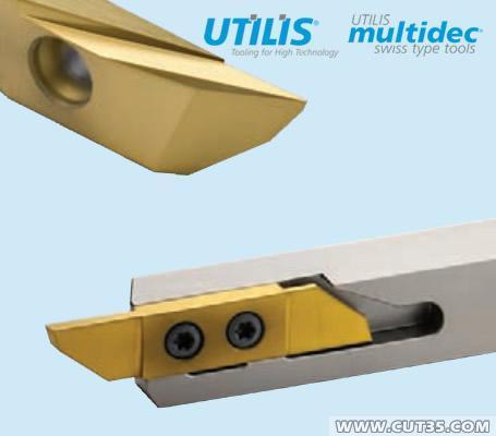 供应瑞士UTILIS:3000系列(Multidec-Cut3000)车削及切断刀粒