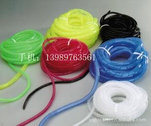 批发外径25MM缠绕管、25MM束线管、PE塑料缠绕管25M