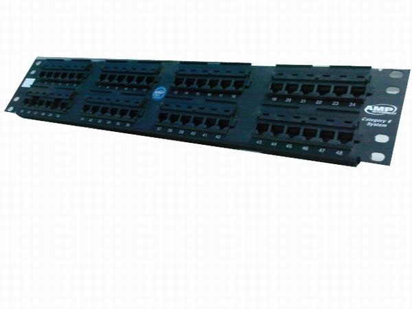 安普48口配线架