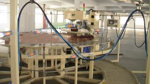 PVC圆形水池成型熔接机-高周波塑胶熔接机