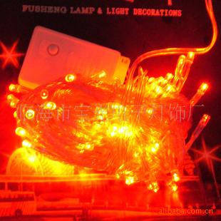 厂家直销节能环保LED装饰圣诞灯串节日灯可定制