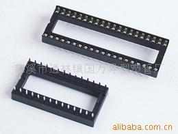 IC插座排针排母牛角电子接插件