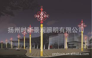 各式传统中国结景观灯——传承中华文明