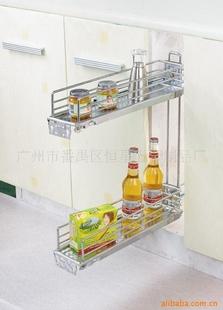 广州斯戴伟橱柜拉篮、厨房挂件后侧式拉篮(图)