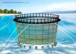 Floating Circular Fish Farming Cage with HDPE Brackets