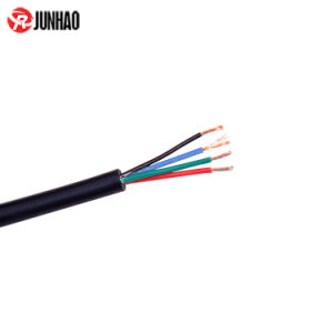PVC Insulation Bare Copper Conductor 4 Core Electrical Wires and Cables