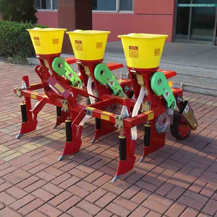 Tractor Mounted 4 Rows Precision Corn Soybean Seed Planter