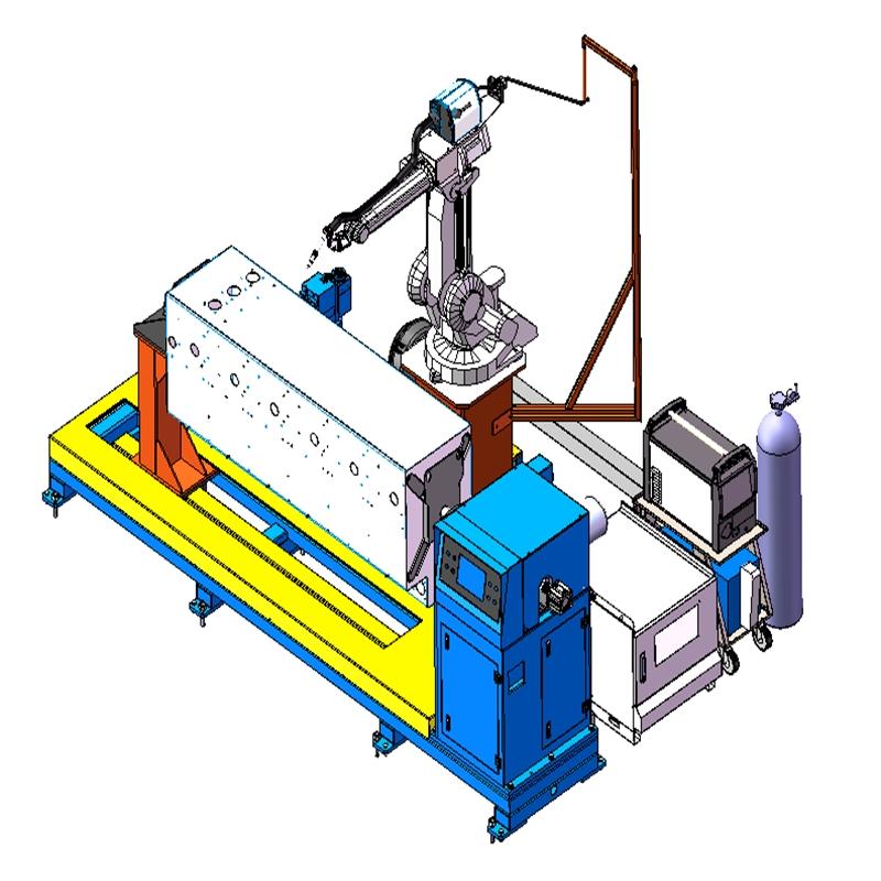 创研制造 南方电网质量认证 标准电力充气柜机器人焊接系统 厂家直营