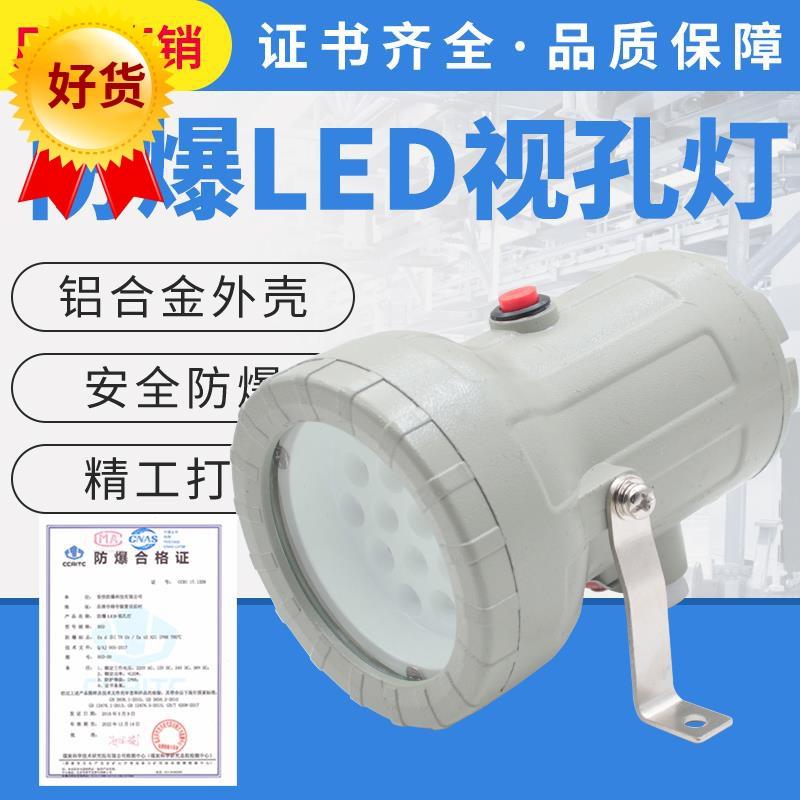 防爆视孔灯5W防爆LED视孔灯10W24v220v36V12V反应釜视镜灯