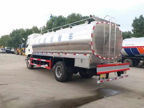 贵州国六5吨羊牛奶运输车