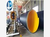 陕西西安HDPE钢带波纹管厂家直销