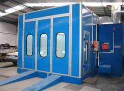Global Supply Paint Room spray paint room to reach the standard selection of environmental protection pictures & photos