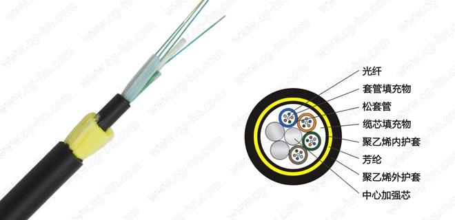 ADSS电力光缆 adss-24b1-100