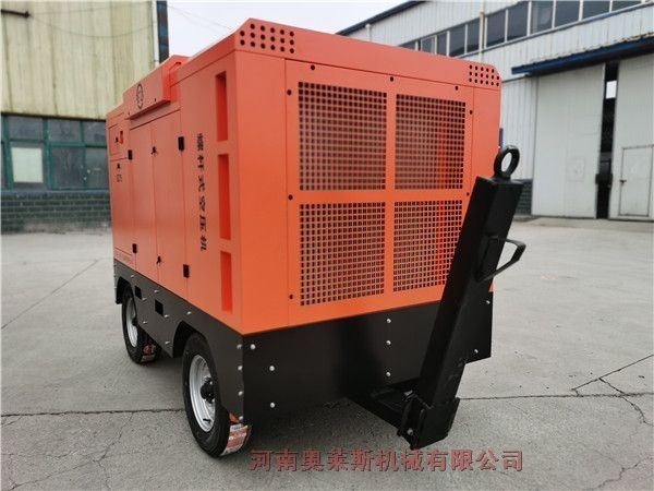 三致移动螺杆空压机90kw16/10适用于钻车配套使用风量足压力大