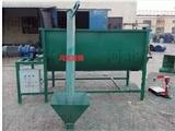 卧式干粉搅拌机/带提升机/砂浆搅拌机/自动上料/1吨/2吨