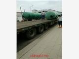 江苏扬州维扬9立方玻璃钢化粪池_隔油池环保用