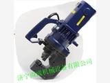 厂家供应手提式液压冲孔机 电动角铁钻孔机视频 钢板打眼机模具