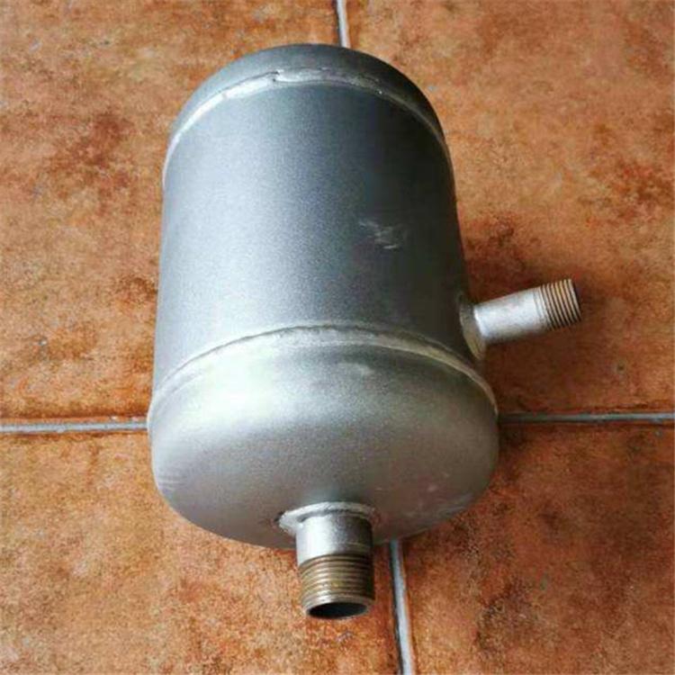 空调调节DN80卧式集气罐佰誉自产自销